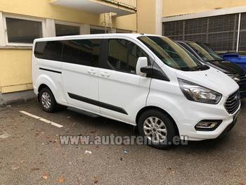 Аренда автомобиля Ford Tourneo Custom 9 мест в Лозанне