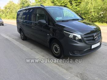 Аренда автомобиля Mercedes-Benz VITO Tourer, 9 мест в Лозанне
