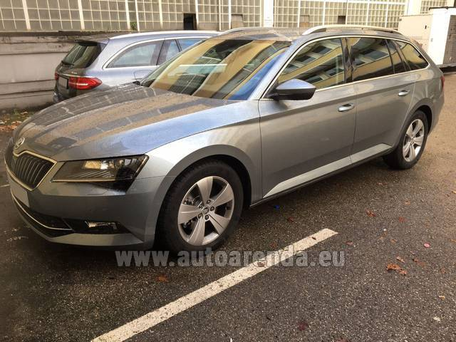 Автомобиль ŠKODA Superb Универсал для аренды в Европе