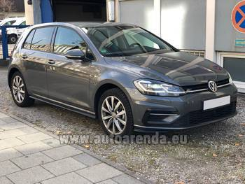 Аренда автомобиля Volkswagen Golf 7 в Винтертуре