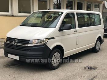 Аренда автомобиля Volkswagen Transporter Long T6 (9 мест) в Лозанне